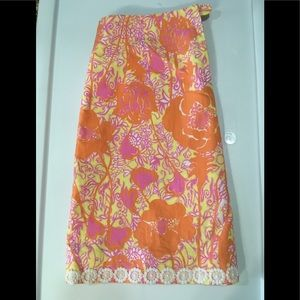 The Original Lilly Pulitzer Skirt Size 10